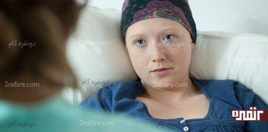 از دست دادن مو تحت شیمی درمانی