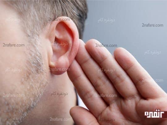 استفاده از حس شنوایی با بلند تکرار کردن کارها