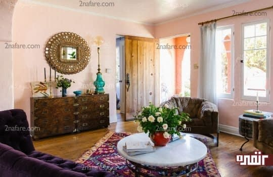 استفاده از مدل های متنوع فرش ایذرانی در فضاهای داخلی