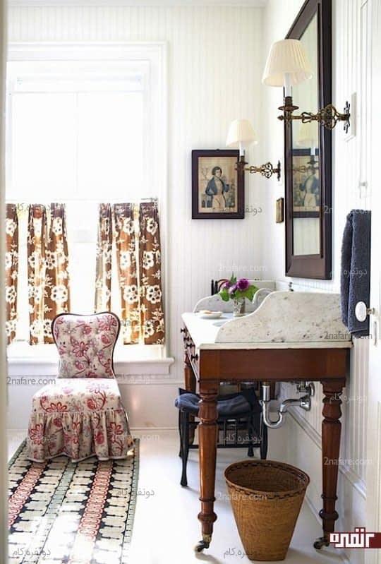 استفاده از میزهای قدیمی برای سرویس بهداشتی