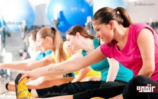 افزایش آمادگی جسمانی با ورزش