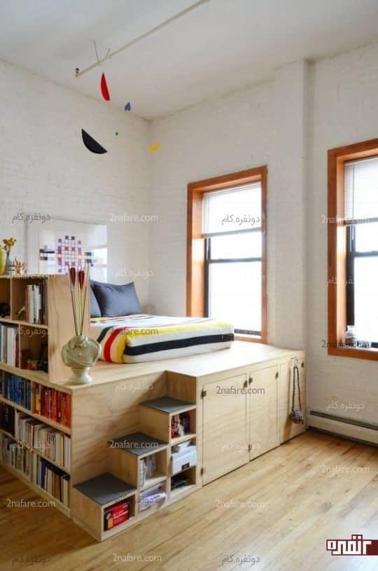 انتخابی زیبا با چند کاربری متناسب با فضای اتاق خواب