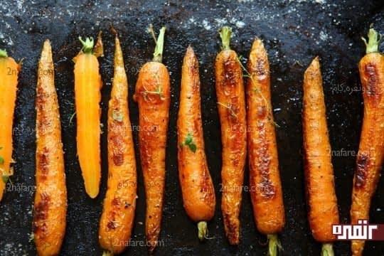 بتاکاروتن موجود در هویج مفید برای سلامتی