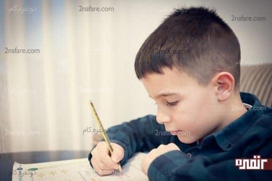 برعکس نوشتن بچه ها نشانه قطعی نارساخوانی نیست