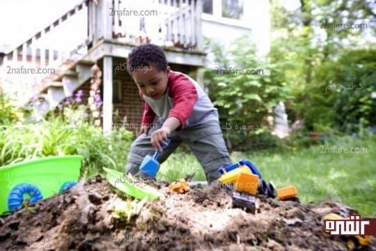 تأثیر بازی در فضای باز و خلاقیت بیشتر بچه ها