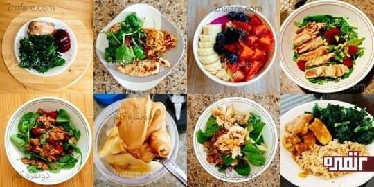 تنوع غذایی حوصله تون رو از رژیم گرفتن سر نمیبره