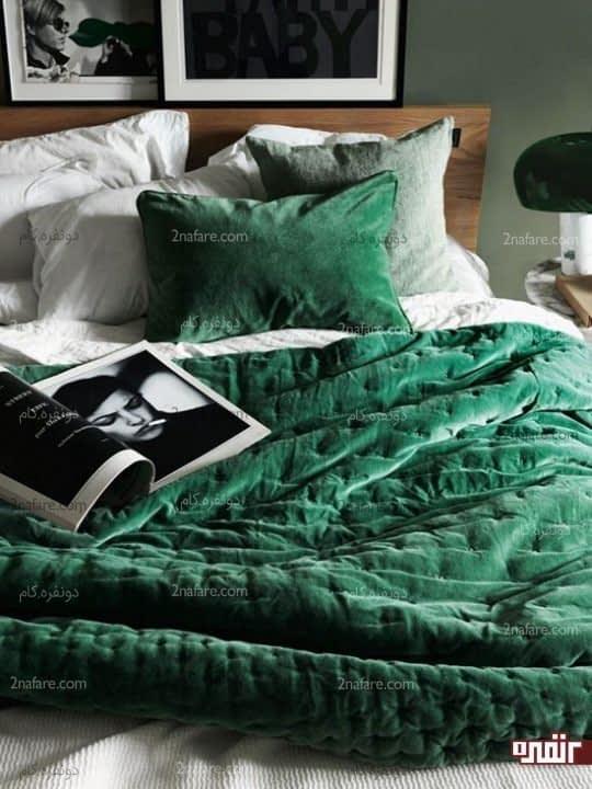 حس نرمی و لطافت تخت خواب