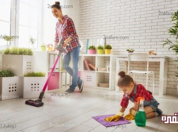 خانه ای زیبا، تمیز و درخشان با روش های اصولی و درست