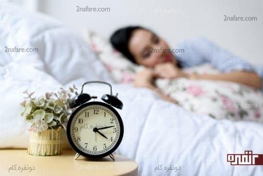 خواب کافی و انرژی لازم در طی روز