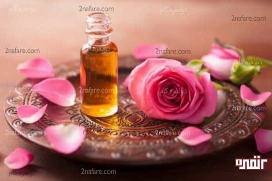 رایحه ای دلپذیر با روغن گل رز