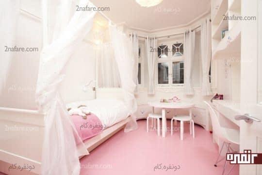 رنگ مناسب اتاق کودک