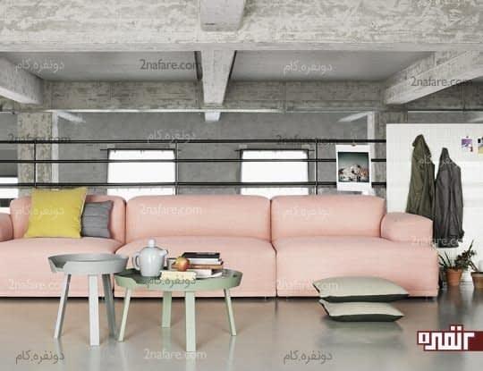 رنگ های پاستلی و ایجاد حس اآؤامش و آسایش در خانه