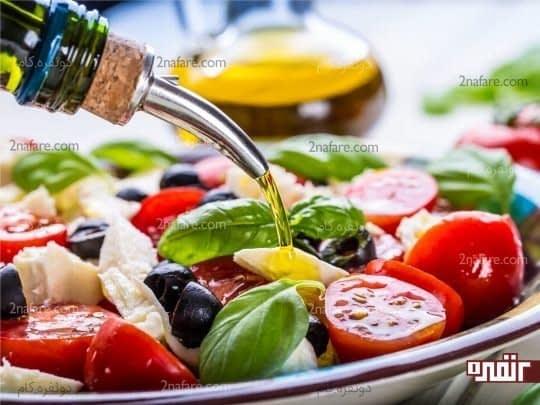 روغن زیتون چربی مفید برای کاهش وزن