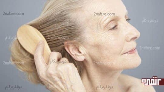 سالمندی و ریزش مو