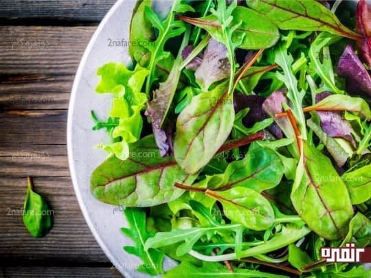 سبزیجات معطر و سرشار از آنتی اکسیدان