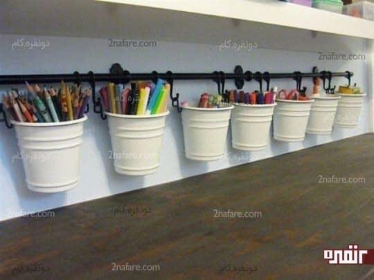 سطل های جادویی و پر از رنگ