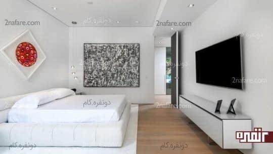 طراحی دکور دیوار با تابلو و آثار هنری