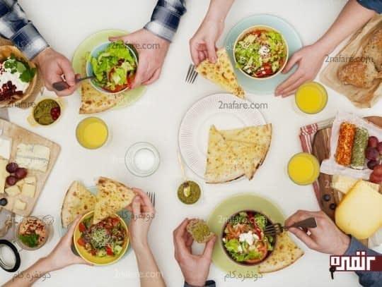 غذاهای سالم رو جایگزین هله هوله کنید