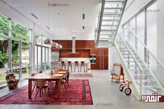 فرش دستبافت و ایرانی متناسب با هر فضایی