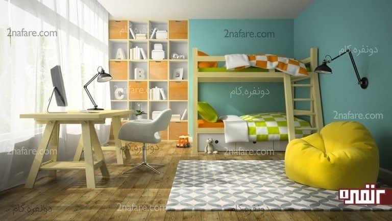 فضای باز اطراف تخت