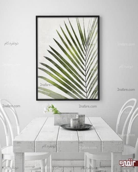 فضای غذاخوری بهترین مکان نصب تابلوهای هنری و زیبا