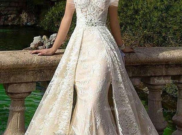 مدل جدید دامن لباس عروس