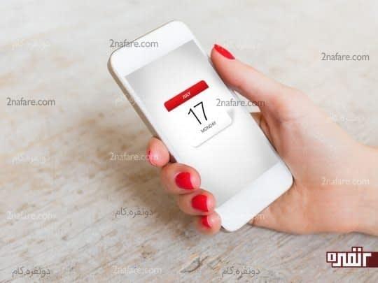 لیست کارها به همراه تاریخ و ساعت را در تقویم موبایل ذخیره کنید