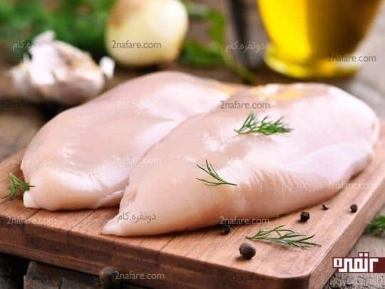 ماکروفر باکتری های موجود در مرغ را از بین نمی برد