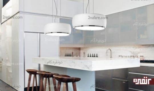 مدلی رایج از چراغ آویز برای آشپزخانه