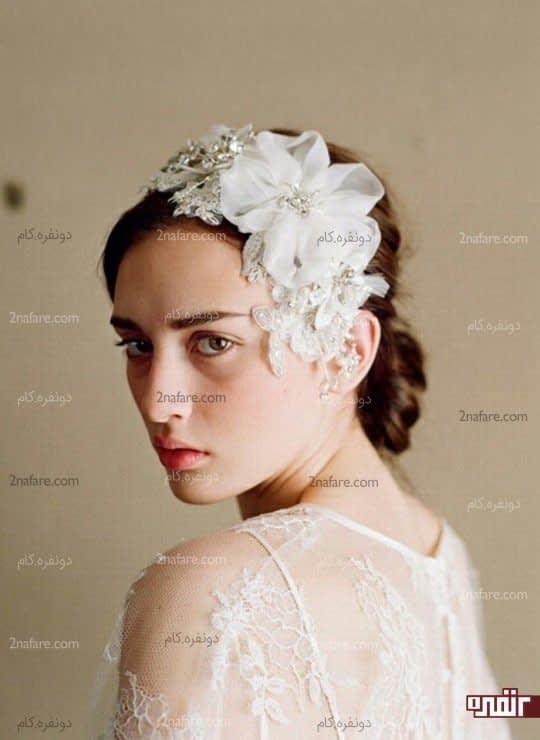 تور عروس خاص مدل گل