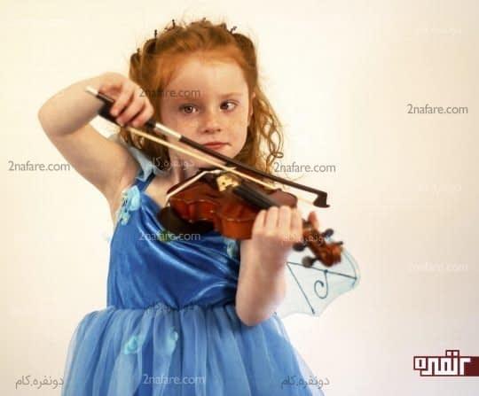 مزایای آموزش موسیقی به بچه ها