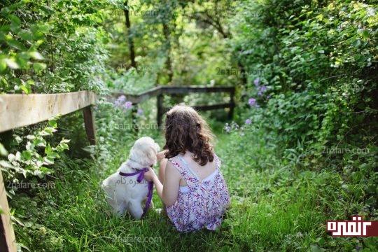 مزایای نگهداری از حیوانات خانگی برای بچه ها