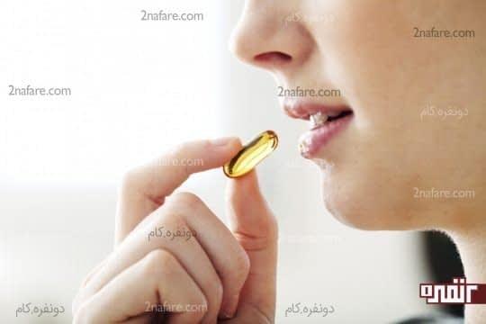 مصرف مولتی ویتامین