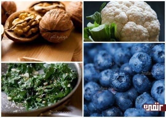 مواد غذایی حاوی بیوتین