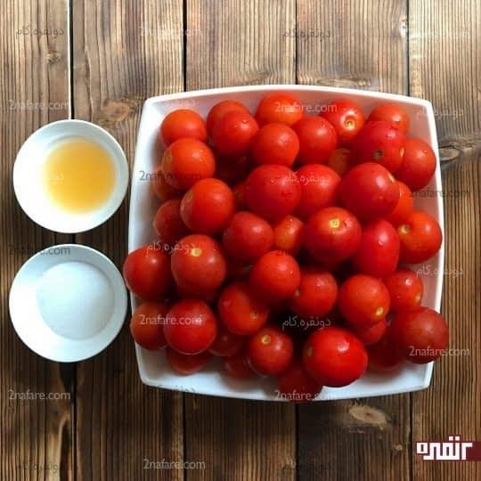 مواد لازم برای تهیه رب گوجه فرنگی