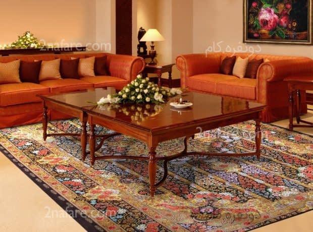 ویژگی های منحصربفرد فرش های دستبافت ایرانی برای استفاده در دکوراسیون داخلی
