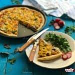 طرز تهیه پیتزا مخلوط سبزیجات مرحله به مرحله