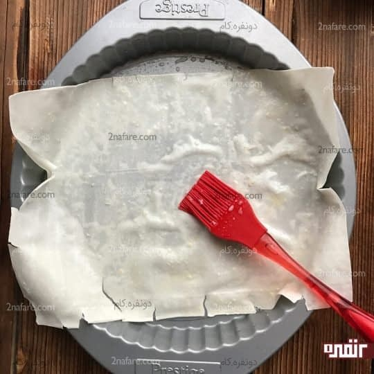 چیدن خمیر یوفکا