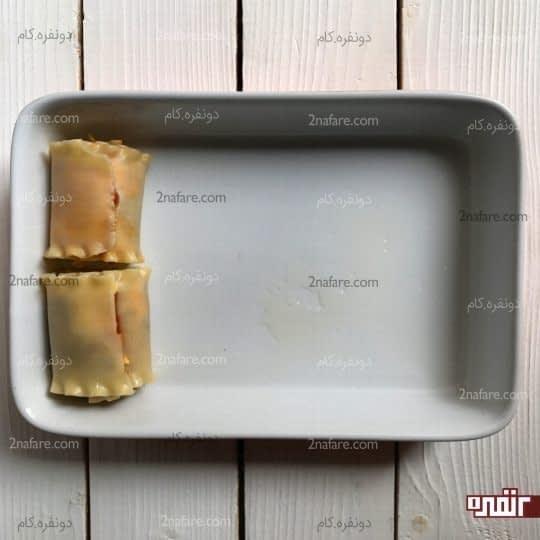 چیدن داخل ظرف