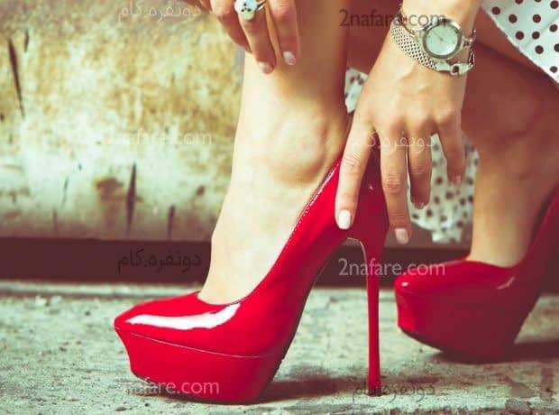 کفش قرمز رو با چه لباس هایی ست کنیم