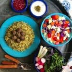 طرز تهیه کلم پلو شیرازی مرحله به مرحله