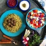 کلم پلو شیرازی