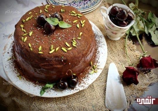 دسر شارلوت کیک
