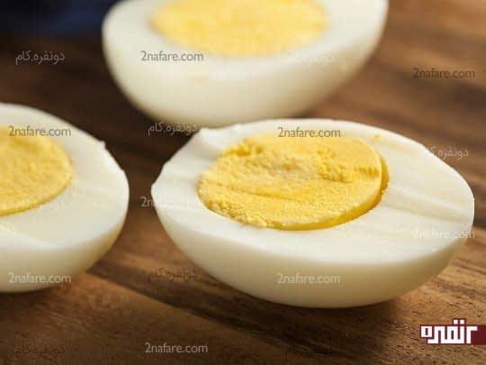 گرمای ماکروفر موجب انفجار تخم مرغ می شود