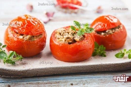 گوجه فرنگی پخته شده و افزایش خاصیت چربی زدایی