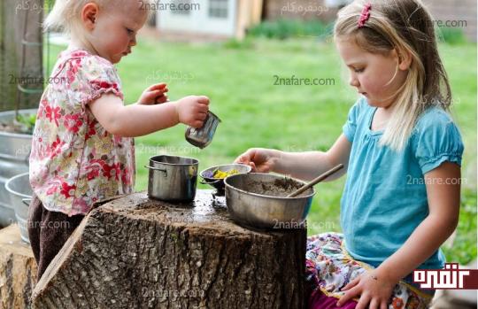 یک محیط مشخص برای بازی بچه ها تعریف کنید
