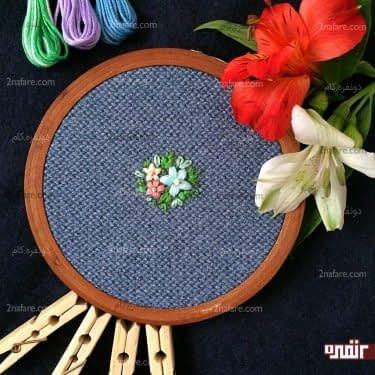 مجموعه گلهاي رنگي و ساده