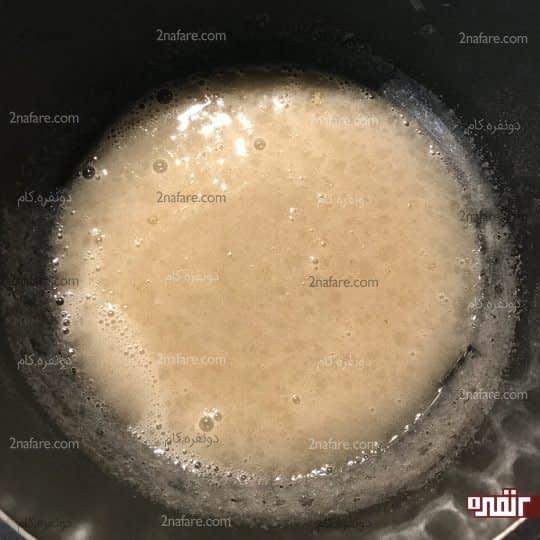 آب کردن ژلاتین