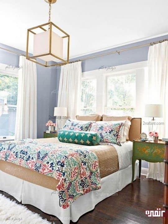 اتاق خواب گرم و دنج