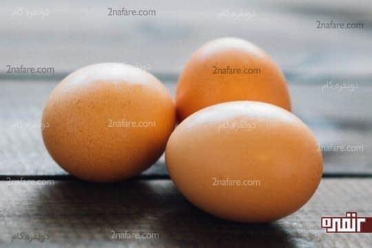 احساس سیری طولانی تر با تخم مرغ